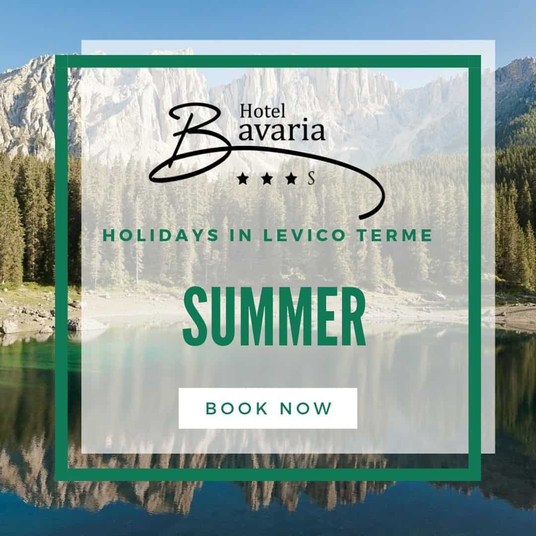Summer offer on lake levico