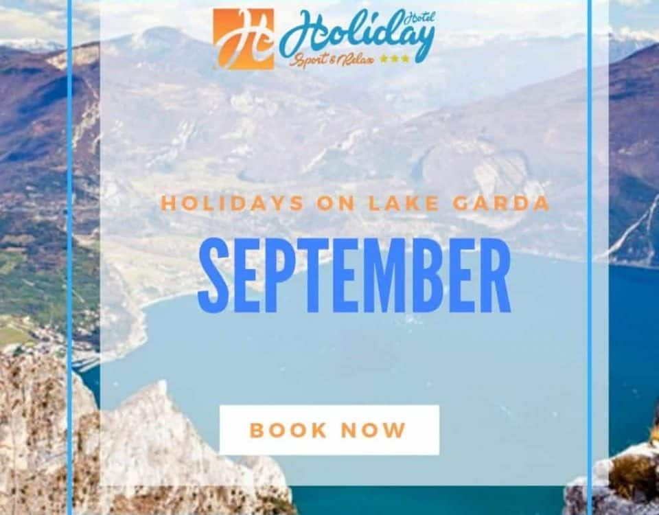 September offer on Lake Garda in Trentino