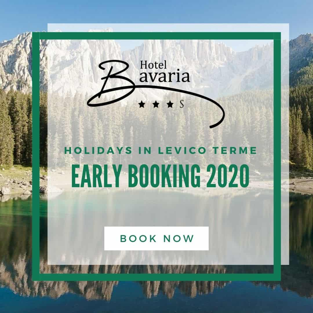 EARLY BOOKING FOR 2020 ON LEVICO TERME LAKE